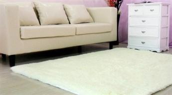Patīkami biezs un pasakaini mīksts, elegants paklājs līdz -53%