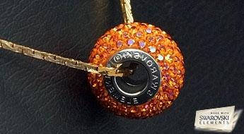 """Košs jaunums! Skaists kulons """"BeCharmed Pavé"""" ar Swarovski pērlīti no kolekcijas BeCharmed."""