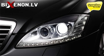Uzlabo redzamību uz ceļa! Premium XENON auto lampu komplekts no BIXENON.LV ar 40% atlaidi!