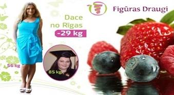 Iegādājies Figūras Draugu tievēšanas programmu uz veseliem 3 mēnešiem un atvadies no liekajiem kilogramiem!