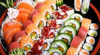 Āzijas garšu cienītājiem! YOLO suši komplekts 3 personām (56 gabaliņi)!
