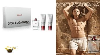 Komplekts Dolce & Gabbana The One Sport EDT 50ml+ dušas želeja 50ml+ pēc skūšanās balzams 50ml ar 57% atlaidi!