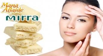 Procedūra ādas jaunības saglabāšanai «Baltā šokolāde» + sejas ādas stāvokļa aparātdiagnostika + roku aprūpe!