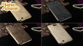 Pasargā savu telefonu no skrāpējumiem un bojājumiem! Ciets aizsargvāciņš krāsā ar unikālu stilīgu dizainu jūsu Samsung Note II (N7100) + bezmaksas Stylus dāvanā!