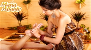 Taizemes pēdu masāža ar šokolādi vai Taizemes pēdu masāža + atvēsinoša maska kājām!