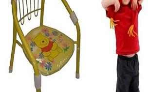 3.95Ls par krēslu bērniem ar Vinnija Pūka attēlu!