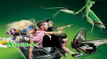 Ceļojums 5 dimensiju pasaulē – dodies uz 5D kino kopā ar visu ģimeni! Viena biļete uz 5D kinoteātri ar 50% atlaidi – tikai par 1,25 Ls!