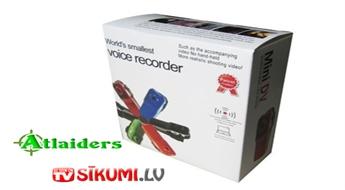 Nepalaidiet garām! Vismazākā digitālā videokamera MINI DV MD80 ar 52% atlaidi – tikai par 12 Ls!
