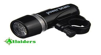 Komplekts velosipēdam Power Beam ar priekšējo LED lukturīti un aizmugurējo lukturi – tikai par 3,99 Ls!