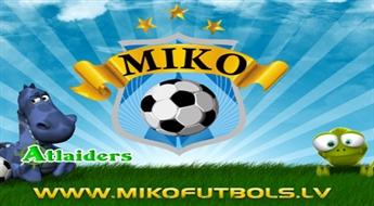 Arī mazuļi var spēlēt futbolu! Viena mēneša abonements futbola nodarbībām bērniem no 3 līdz 8 gadiem futbola klubā ''MIKO'' – tikai par 12 Ls!