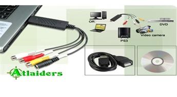 """USB adapteris """"Easy Cap"""" – audio un video ierakstu pārrakstīšanai digitālā formātā – tikai par 9,80 Ls!"""