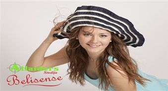 Ekspress fotosesija + make-up ar 50% atlaidi