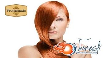 "Matu atjaunošāna ""IRON REPAIR Ultrasinic - Infrared Haircare Clip"" salonā ""Venerdi""!"