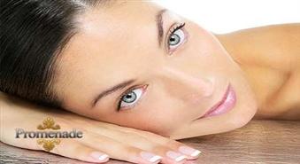"""Sejas ādas dziļās tīrīšanas procedūra + pīlings + poras sašaurinošā maska ar dabīgu kosmētiku """"ANNA LOTAN""""!"""