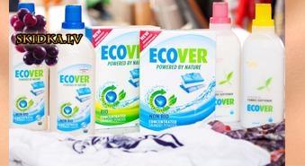 ECOVER ekoloģisks šķidrais veļas mazgāšanas līdzekllis 1.5L ar 33% atlaidi!