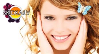 Sieviešu matu  griezums + galvas masāža+atjaunojoša matu maska+matu veidošana ar 50% atlaidi!