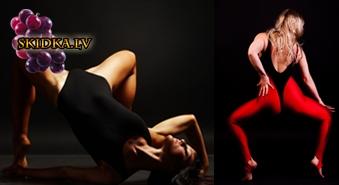 Vēlaties pārsteigt savu otro pusīti ar elegantu striptīzu ? Individuālā nodarbība  ar 50% atlaidi