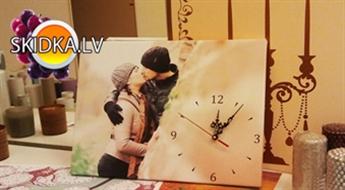 ARTWAY: Personīga dāvana - kanvas pulkstenis!