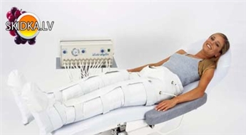 """Pressoterapija – limfodrenāžas (gaisa) zābaki visam ķermenim ar 62% atlaidi salonā """"Miami Beach"""""""