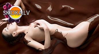 Salons ORANGE SPA  piedāvā izbaudīt šokolādes masāžu ar ietīšanu ar 60% atlaidi.