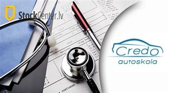 Autoskola Credo: autovadītāju medicīniskā apskate un izziņas noformēšana