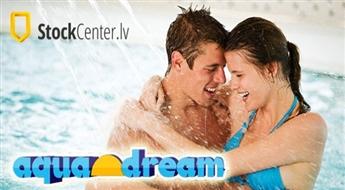 SPA centra Aquadream apmeklējums 1 personai -40%