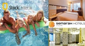 SemaraH Hotel Lielupe: atpūta visai ģimenei -54%