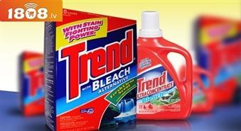 Ekoloģisks šķidrais veļas mazgāšanas līdzekllis Trend ar 43 % atlaidi! Tikai 2.49Ls