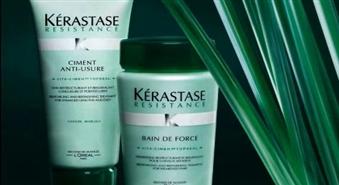 Salons MAIJA Jūrmalā piedāvā atjaunošanas rituālu novājinātiem matiem ar ekskluzīvas līnijas kosmētiku matu kopšanai KÉRASTASE + griezums + veidošana ar 51% atlaidi!