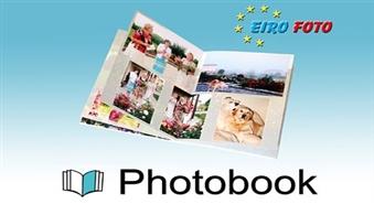 Ātri, ērti, lēti – eksklūzivais piedāvājums!!!  Ceļojumi, notikumi, jaukas atmiņas ar Baltijā pirmo ekskluzīvu fotogrāmatu Photobook salonā EIROFOTO ar 52% atlaidi! Fotogrāmatas formāts A4 (20X30cm) atvērtā veidā. Un tas ir viss par īpašu cenu – tikai par 7.99 Ls