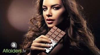 Brīnišķīga dāvana! Šokolādes rituāls: visa ķermeņa pīlings + šokolādes ietīšana + ķermeņa masāža ar 52% atlaidi!