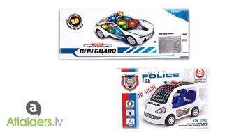 Mūzikālās rotaļlietas 3D City Police Car vai 3D City Guard - ieprieciniet savu bērnu! Tagad ar 50% atlaidi!