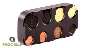 Īpaši aktuāls piedāvājums! Monētu kastīte eiro centu uzglabāšanai, tagad ar 51% atlaidi!