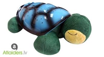 Zvaigžņotās debess projektors - bruņurupucis ar mūziku vai bez tās  – tagad sākot ar 10,99 EUR!