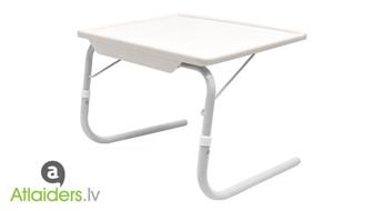 Daudzfunkcionālais pārvietojamais galdiņš tikai par 9,99 EUR!
