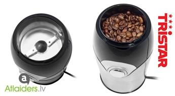 Tristar KM-2270 kafijas dzirnaviņas – svaiga un aromātiska kafija ik rītu dažu sekunžu laikā!
