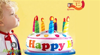 Lieliska ideja dāvanai! Piepūšamā Dzimšanas Dienas Torte!
