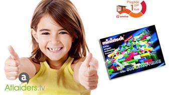 """Konstruktoru spēles bērniem - """"Policijas mašīna"""", """"Vikingu kuģis"""", """"Lidmašīna un mašīna"""" vai 500 klucīšu komplekts!"""