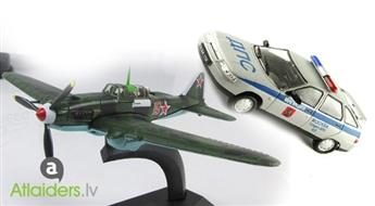 Nostaļģija! Auto modelīs vai lidmašīna Airplan IL-2