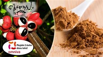 100 g organiskā guarānas pulvera - prātam, enerģijai un svara samazināšanai