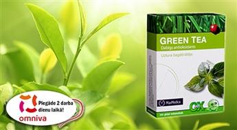 Green Tea - для коррекции веса, ускорения обмена веществ и иммунитета!