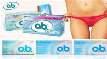 3 упаковки тампонов o.b.® ProComfort™ Silk Touch -42%