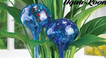 Vairs nekādu novītušu ziedu! Praktiskas un interesantas bumbiņas liešanai Aqua Loon -66%