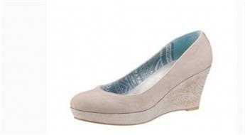 Bēšas sieviešu platformas kurpes Arizona