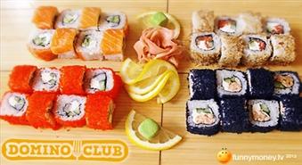 Lieliska ideja pusdienām vai vakariņam ar piegādi! Suši VIP komplekts (32 gab.) ar 41% atlaidi!