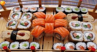 Lieliska ideja pusdienām ar piegādi! Suši set (34 gab.) ar 57% atlaidi!