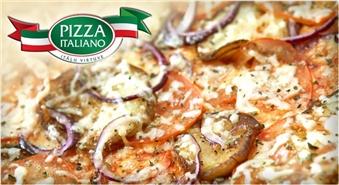 Super garda LIELĀ itāļu pica par puscenu no PIZZA ITALIANO!