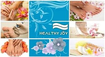"""Klasiskais pedikīrs ar aparātu + SPA procedūra + pēdu masāža salonā """"Healthy Joy"""" tikai par 12.00 Ls!"""