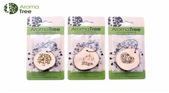 Aromātiskie dekori AromaTree- gabaliņš dabas Tavā mašīnā! Komplektā 3 gb.