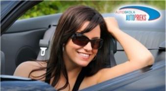 """70% atlaide braukšanas apmācības kursiem autoskolā """"AUTO PRIEKS""""!..."""